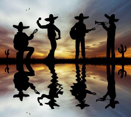 traje mexicano: Mariachi banda