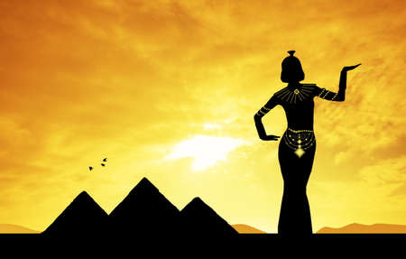 Cleopatra in Egypt photo