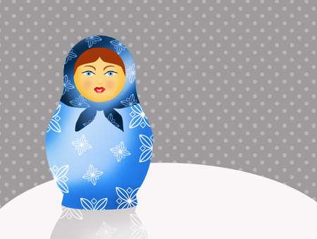 matriosca: Traditional russian matryoshka dolls