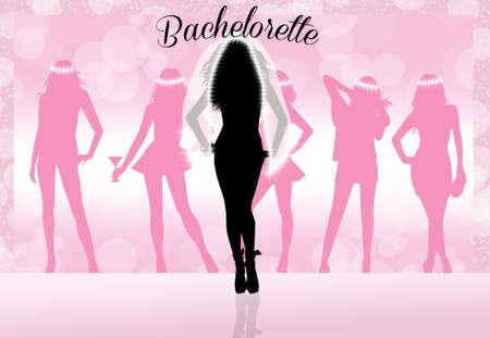 Evening bachelorette