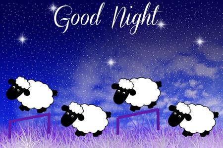 Good Night Stock Photo - 19072172
