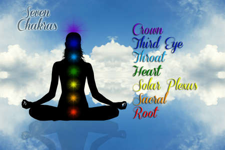 Seven Chakras Stock Photo - 19112867