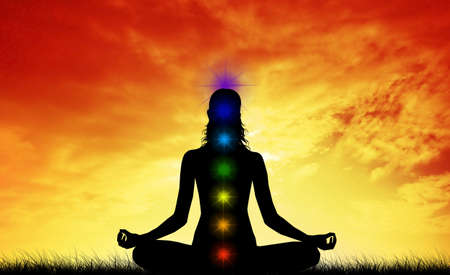 Chakras Stock Photo - 19112815