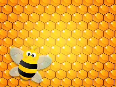 mead: bee hive Stock Photo