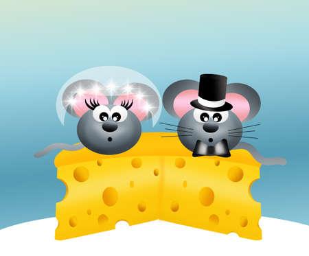 s trap: wedding mice