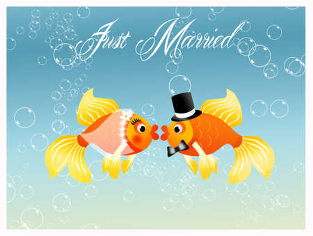 Wedding fish Stock Photo - 19336156