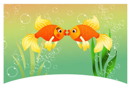 Fish in aquarium Stock Photo - 19336137