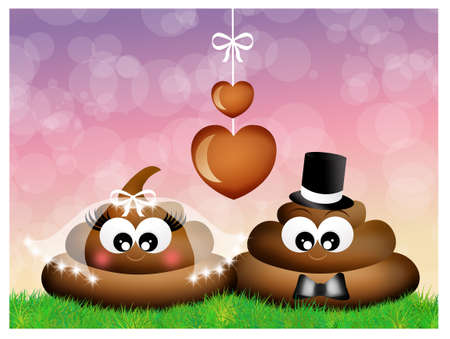 poop in love photo
