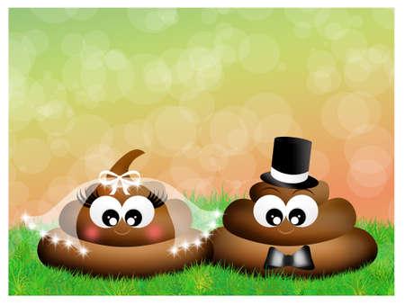 feces: poop in love