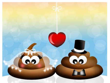 stinky: stinky poop Stock Photo