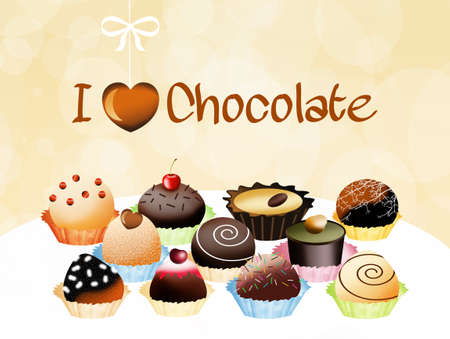 I love chocolates photo