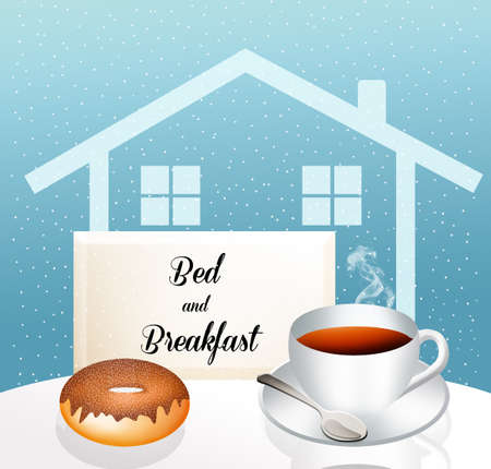 Bed and breakfast Stock Photo - 19735203