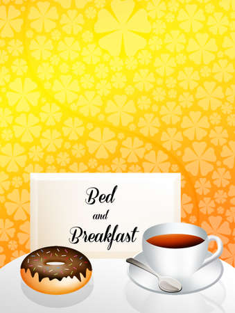 Bed and breakfast Stock Photo - 19735171