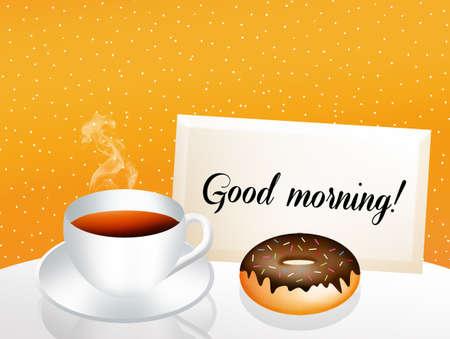 good break: Good morning