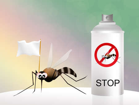 no mosquito: mosquito spray