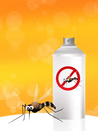 mosquito spray photo