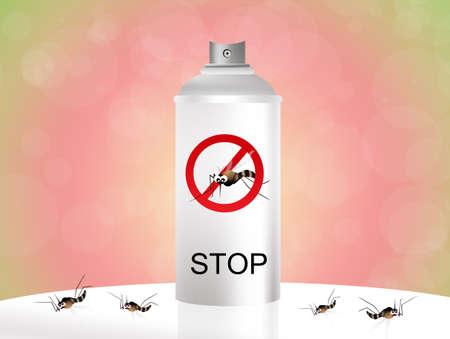 mosquito spray Stock Photo - 19735213