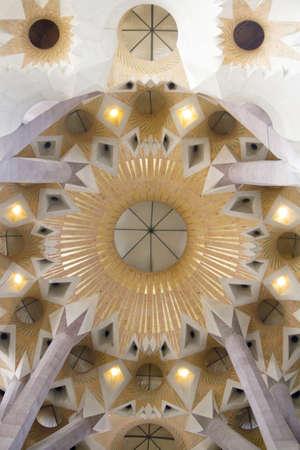 sagrada: Interior of Sagrada Familia