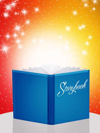 storybook: illustration of storybook