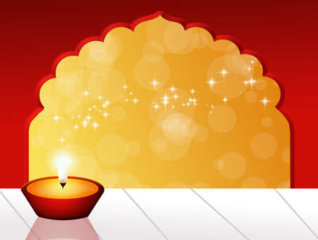 shin: Candle for Diwali