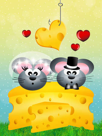 deliciously: mice in love