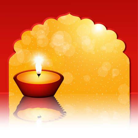 shin: Floating candle Stock Photo