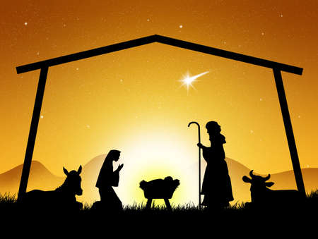 christmas nativity: Natale Presepe