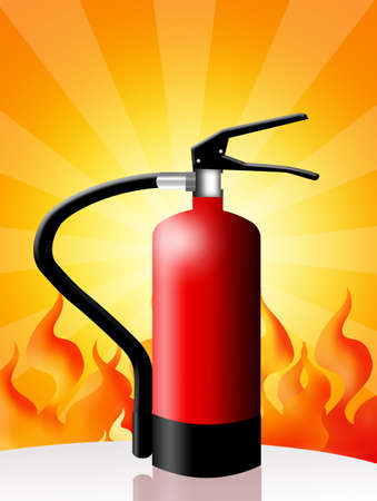 extinguishers: fire extinguisher