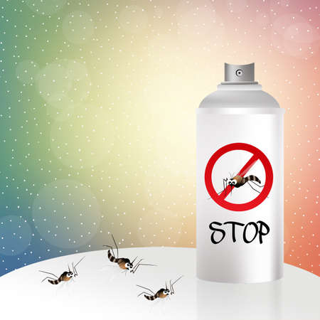 mosquito spray photo