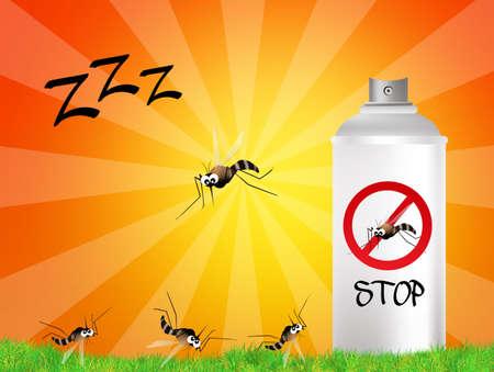 mosquito spray Stock Photo - 21011261