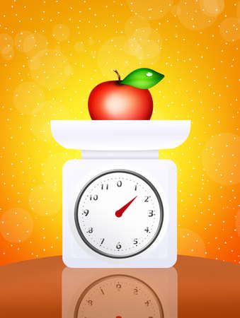 weighing: weighing scales food