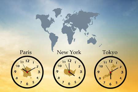 timezone: Time zones