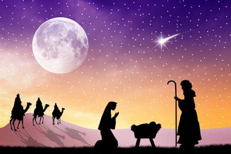 király: Karácsonyi betlehem