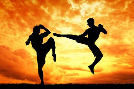 thai dance: muay thai