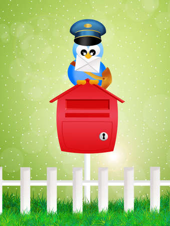 bird postman photo