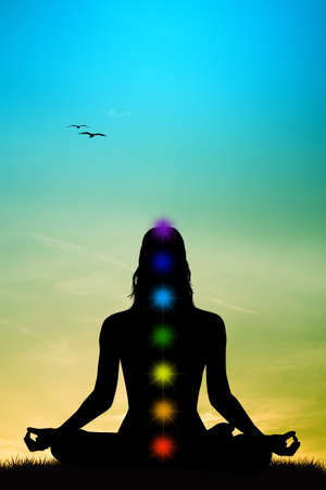 'peace of mind': Chakras Stock Photo