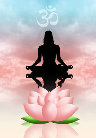 Human Meditation Stock Photo - 22295351