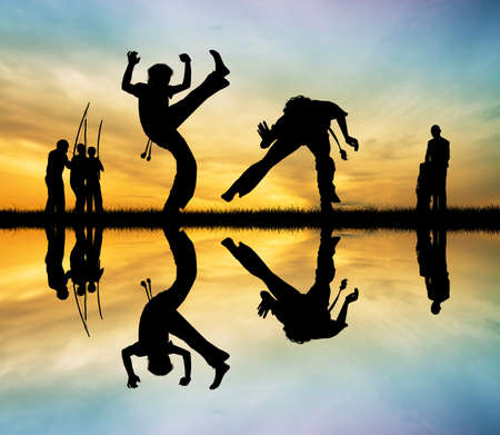 backlighting: Capoeira