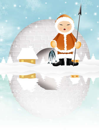 Eskimo photo