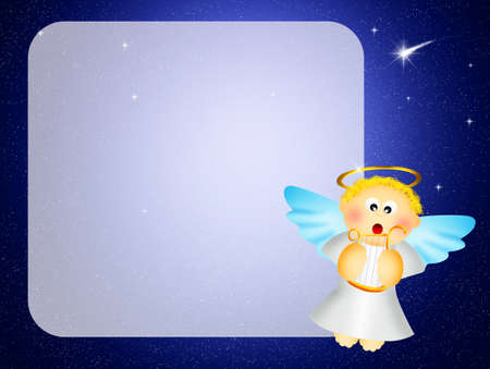 Angel cartoon photo