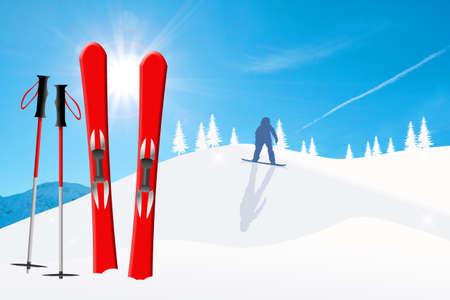 Winter sport photo