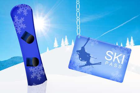 ski pass: skipass