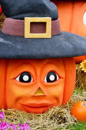 Halloween pumpkins photo