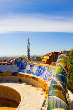 Park Guell, Barcellona, Spain photo