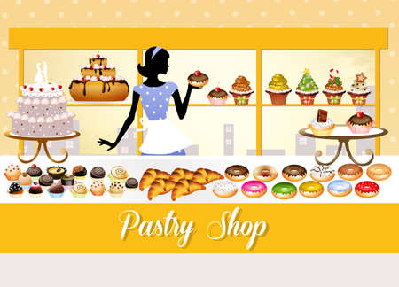 pastry shop photo