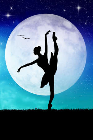 dancing in the moonlight photo