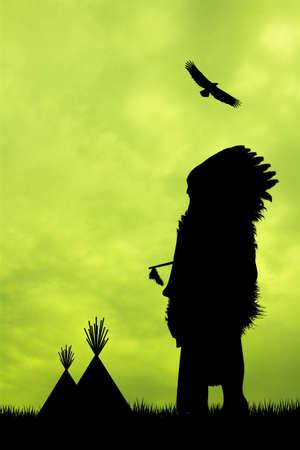 redskin: Native American Indian