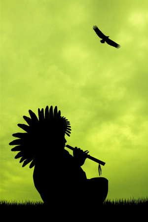 Native American Indian photo