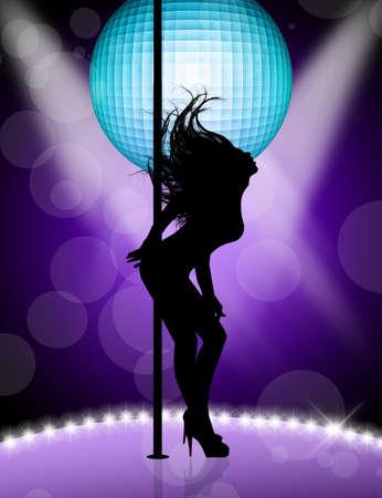 gente bailando: Lap dance
