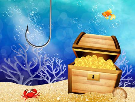 booty: treasure chest